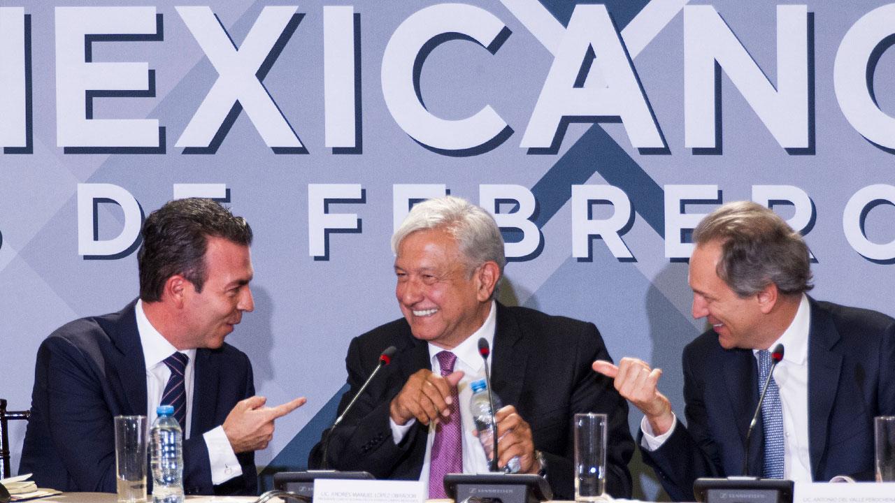 Empresarios, abiertos al intercambio con el gobierno: Antonio del Valle