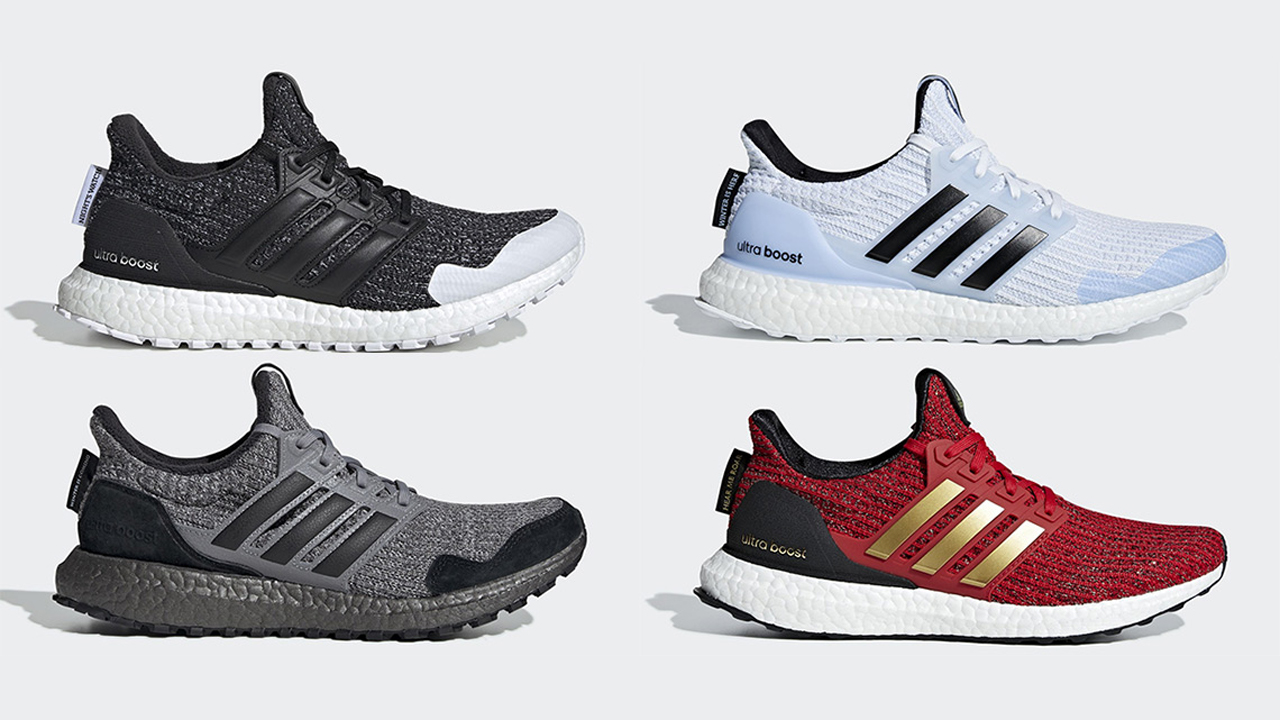Revelan la colección Adidas Ultra Boost Game of Thrones