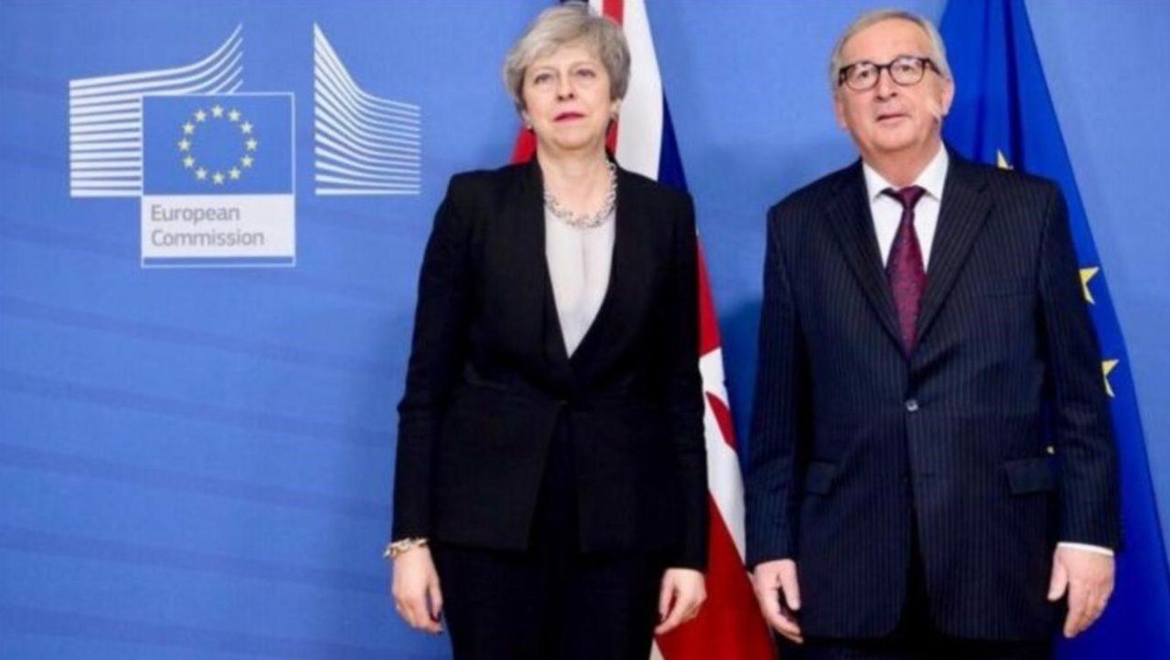 May negocia con Bruselas el Brexit que quiere el parlamento británico