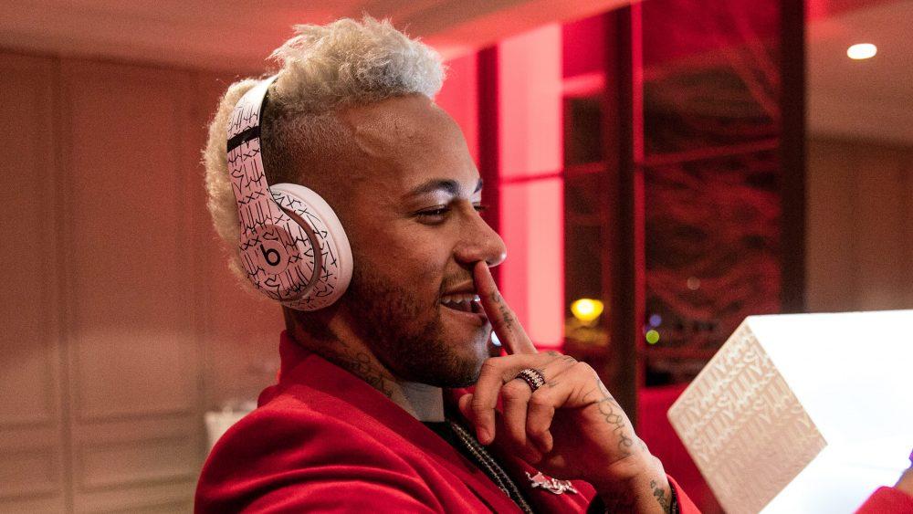 Beats diseña una colección de audífonos para Neymar