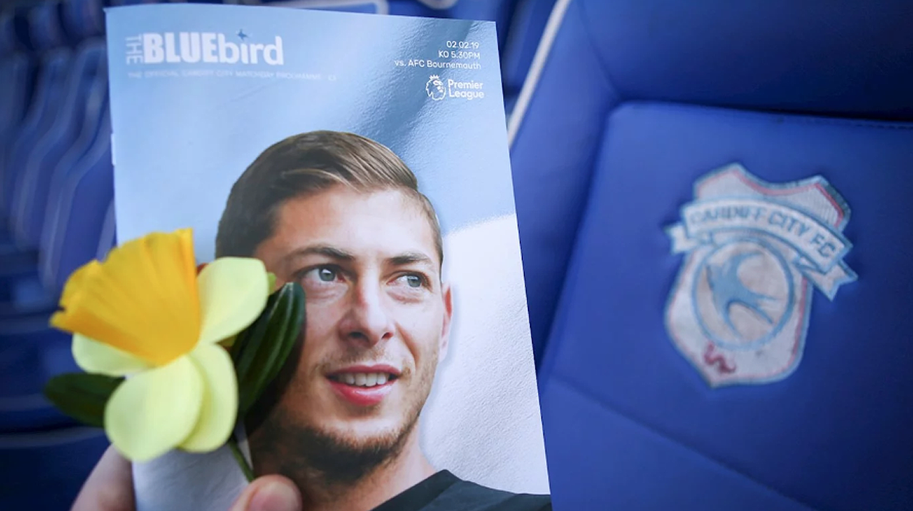 Policía británica confirma muerte del futbolista Emiliano Sala