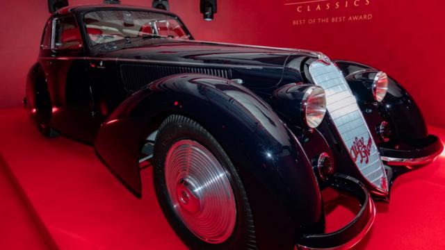 Alfa Romeo gana el premio al mejor auto clásico del mundo