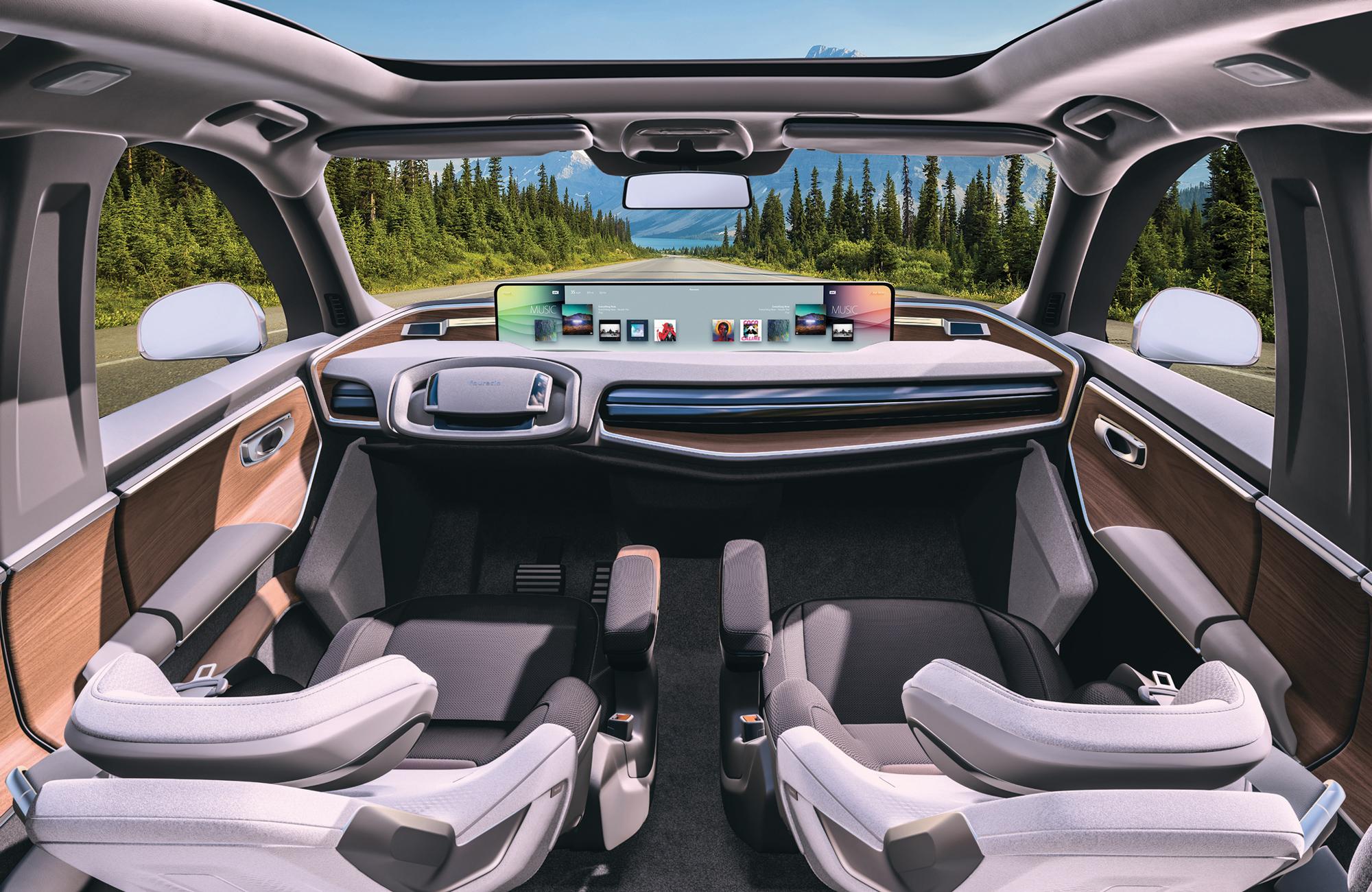 Auburn Hills, el búnker de Faurecia donde resguarda la cabina del auto del futuro