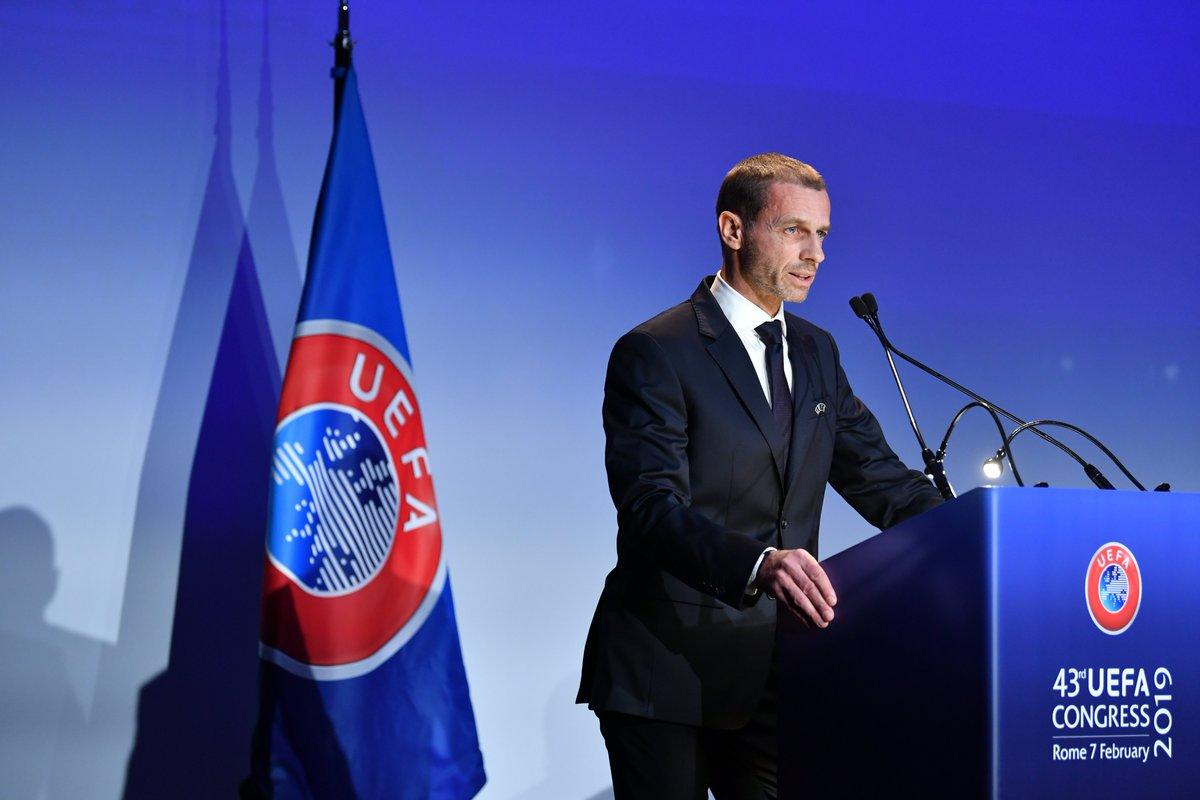 Aleksander Ceferin, reelegido presidente de la UEFA
