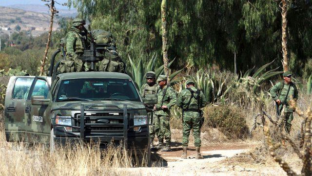 seguridad pública Fuerzas Armadas