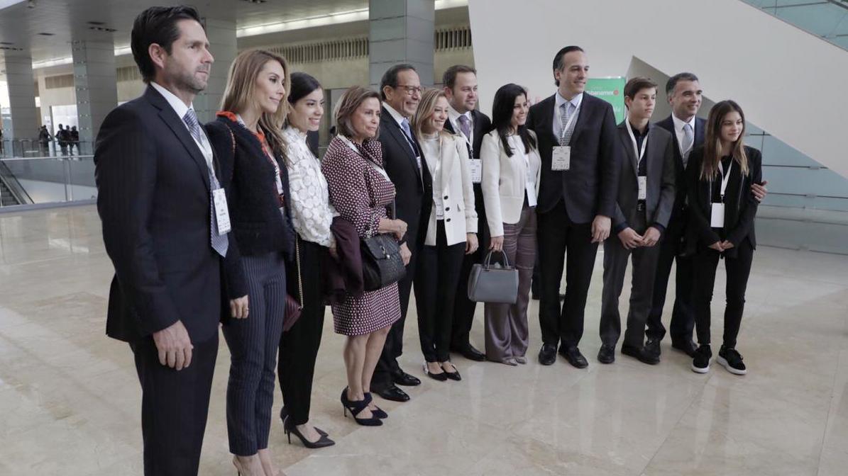 Familiares de Carlos Salazar. Foto: Fernando Luna Arce/Forbes México.