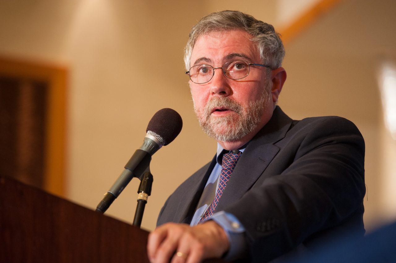 Paul Krugman prevé una recesión global para 2019 o 2020