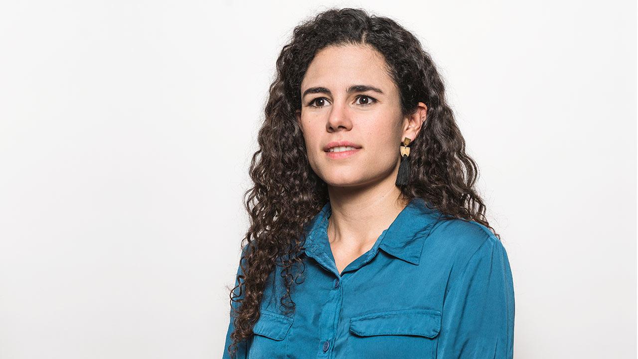 Entrevista: Luisa María Alcalde espera que, a pesar de todo, haya recuperación en V
