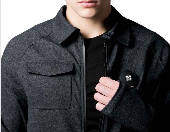Machina diseña prendas que comparten tu ubicación en caso de emergencia