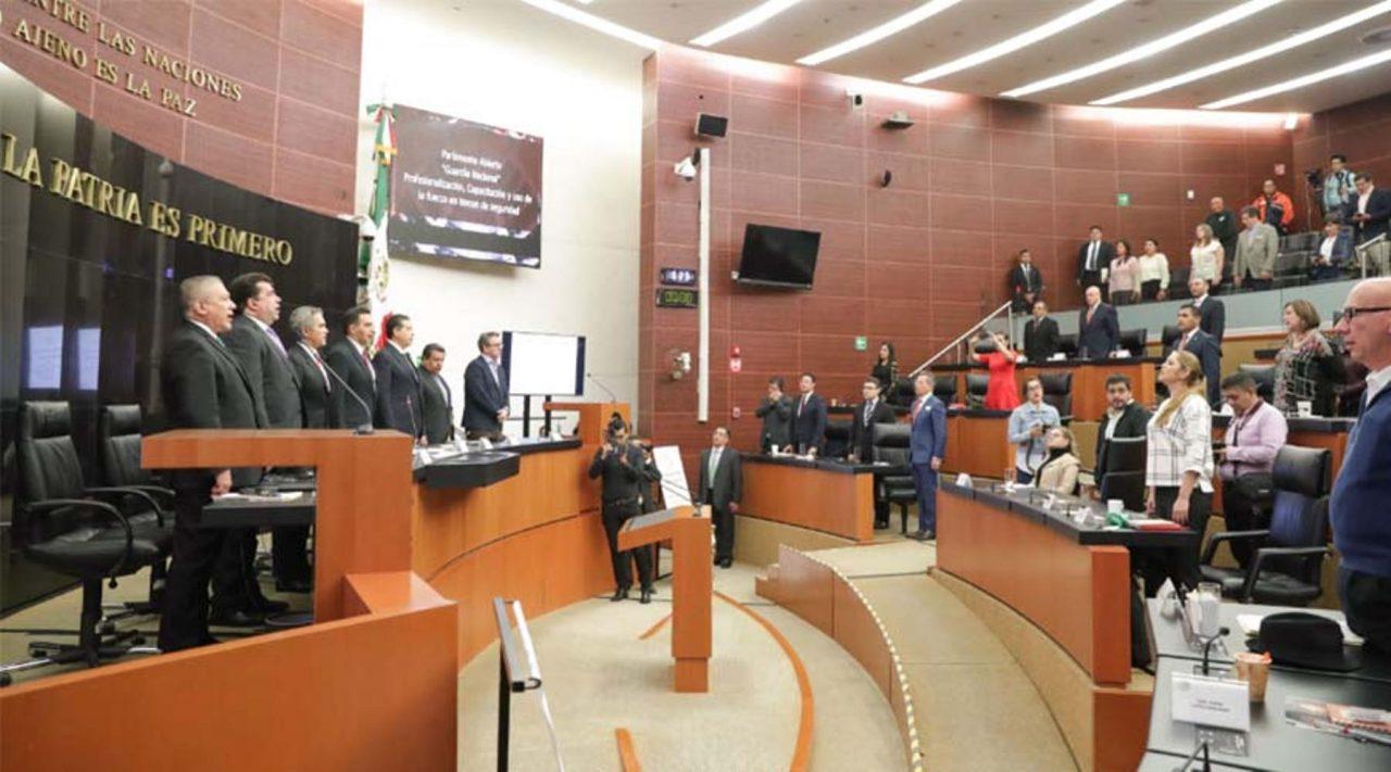 Dictamen sobre Guardia Nacional entra a primera lectura en el Senado