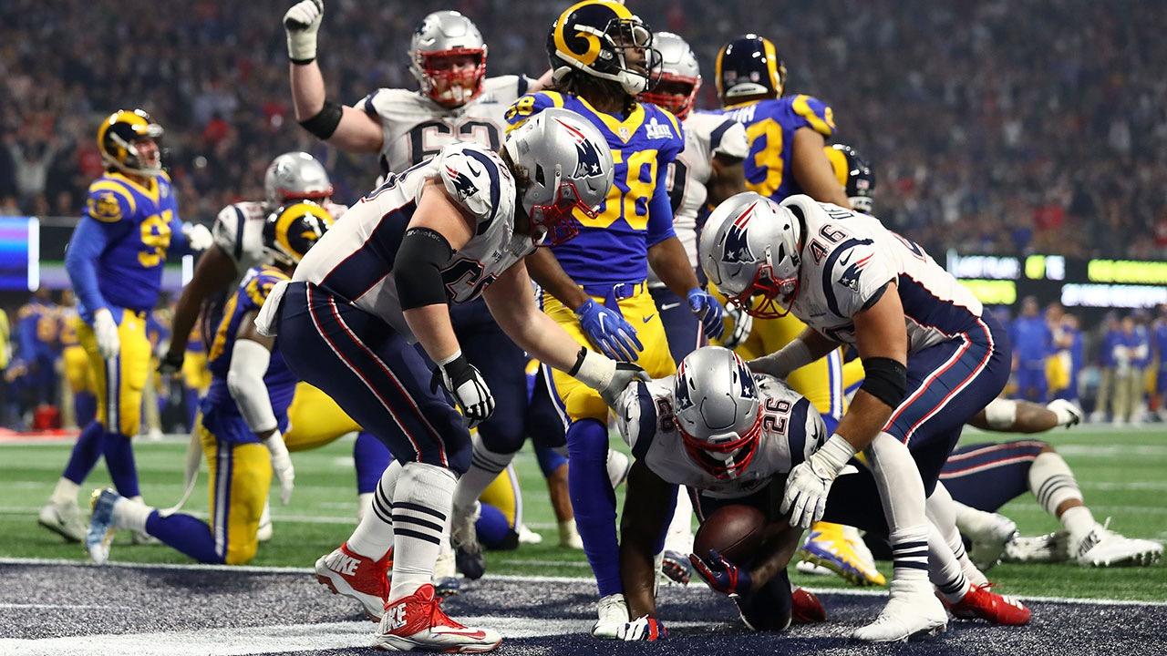 Patriots se imponen a Rams y ganan su sexto Super Bowl