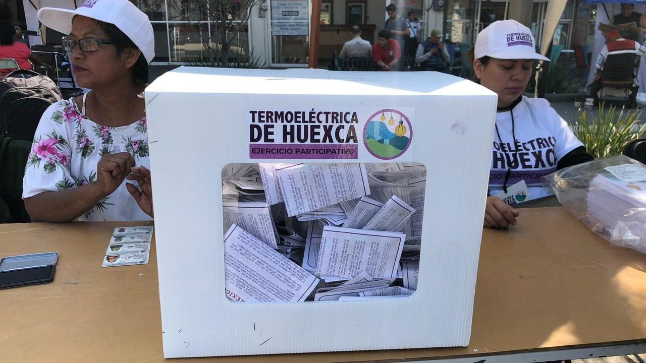 Se respetará decisión por termoeléctrica en Huexca: gobierno