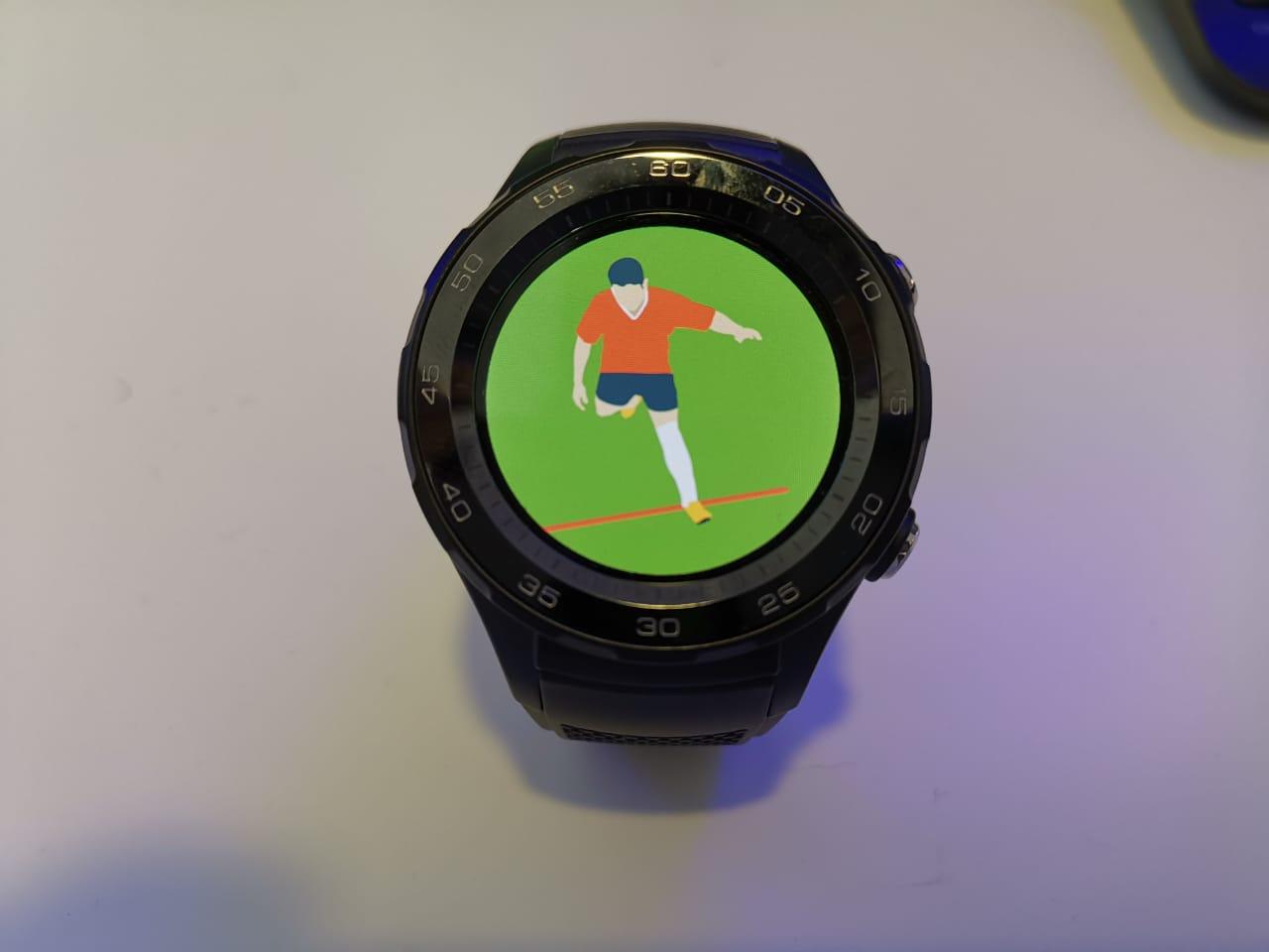 MWC2019 | La Liga Española quiere probar relojes inteligentes en los árbitros
