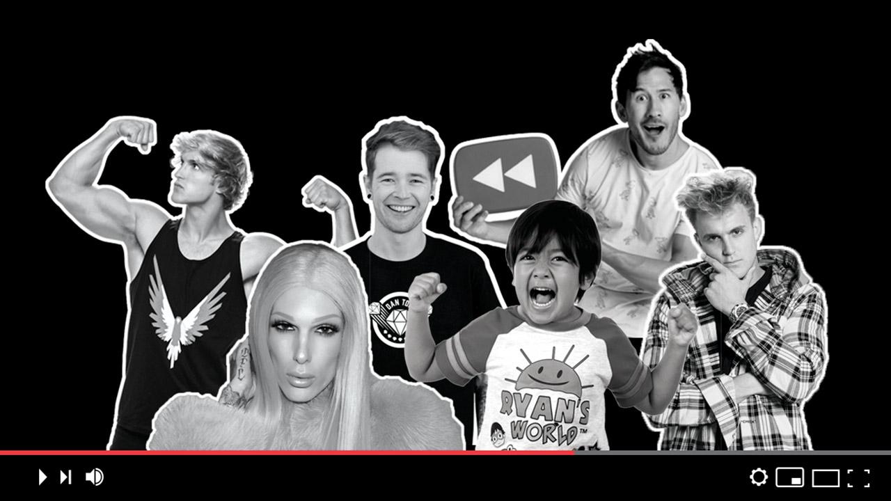 El Top 10 de YouTube, las estrellas mejor pagadas
