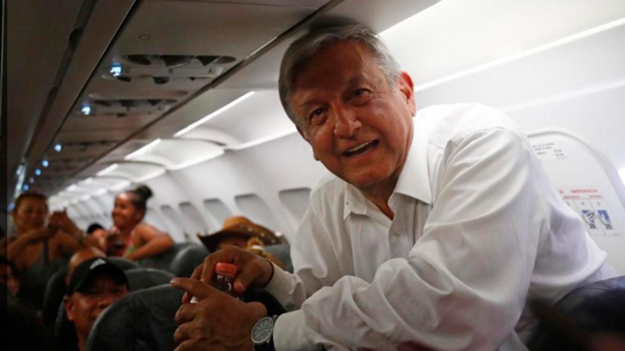 AMLO gastó en 15 vuelos, lo que Peña Nieto sólo en uno