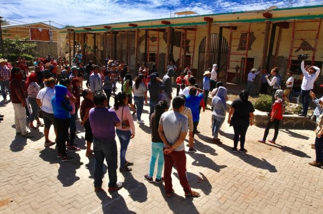 Gobierno realiza consulta sobre termoeléctrica en Morelos; protestan contra el proyecto