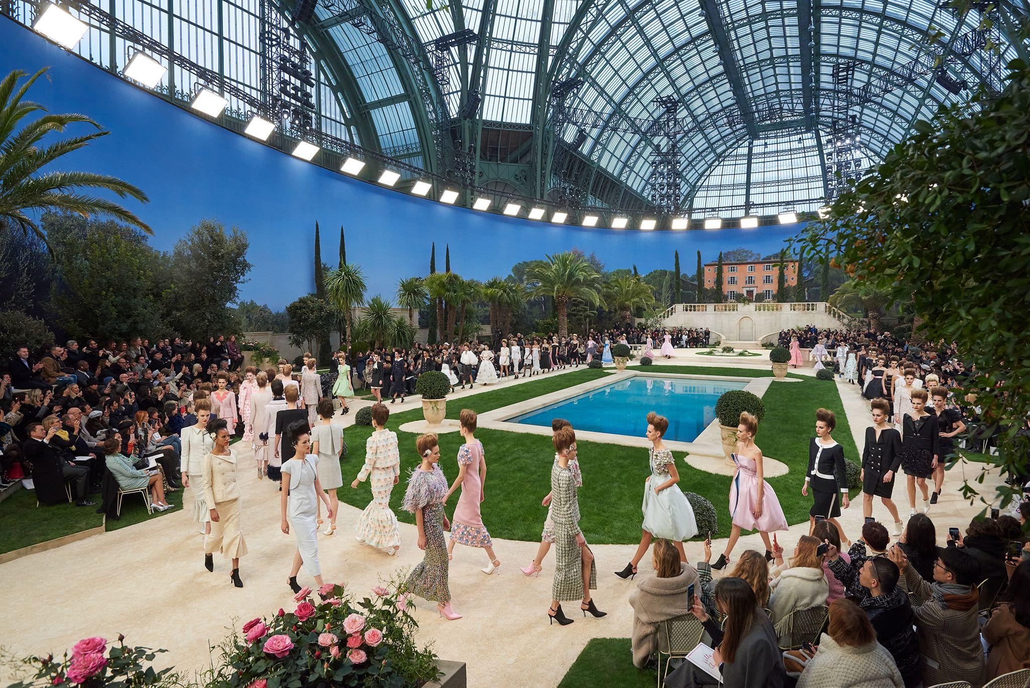 Los desfiles más sorprendentes de Chanel a cargo de Karl Lagerfeld