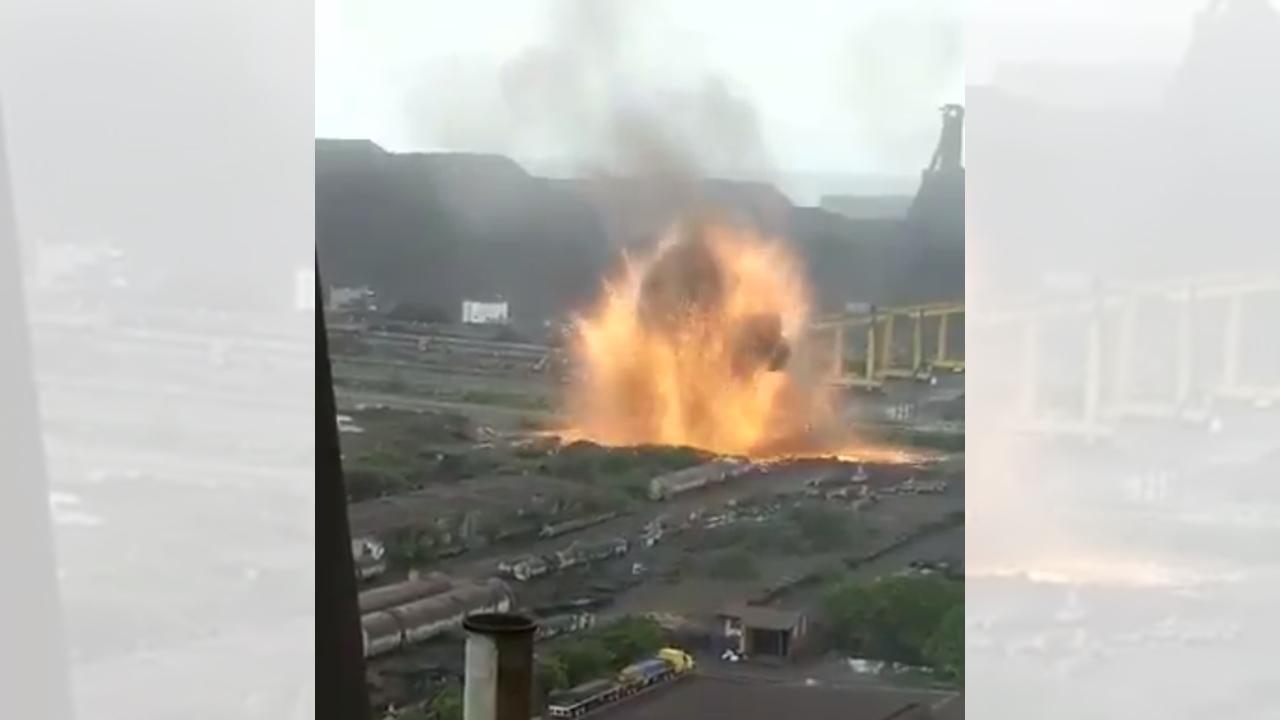 Explosión se registra en planta de ArcelorMittal en Lázaro Cárdenas