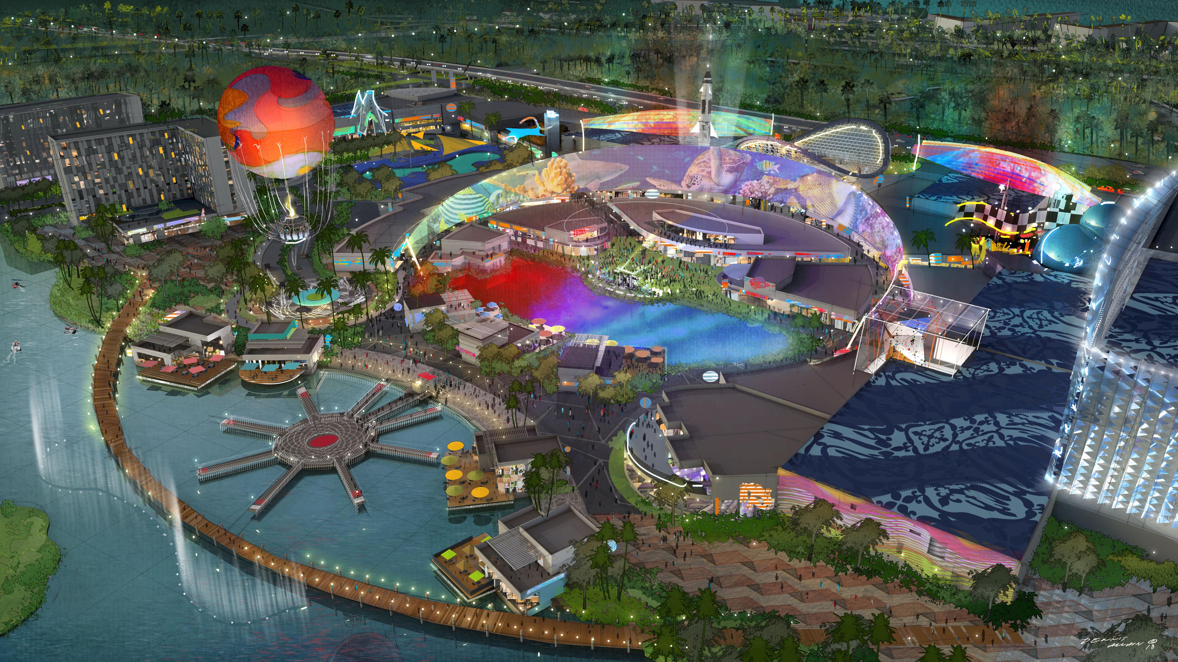 Gicsa abrirá un outlet con acuario y lagos artificiales