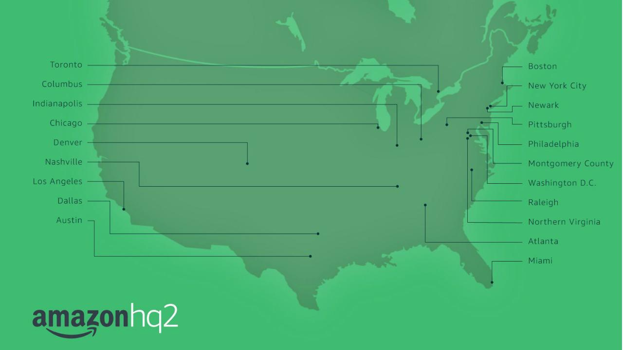 Enseñanzas de cancelar el Amazon HQ2-NY (I)