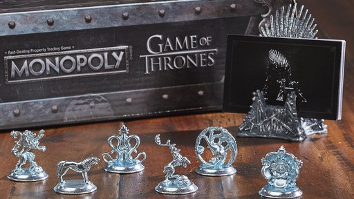 Monopoly lanza edición especial de 'Game of Thrones'