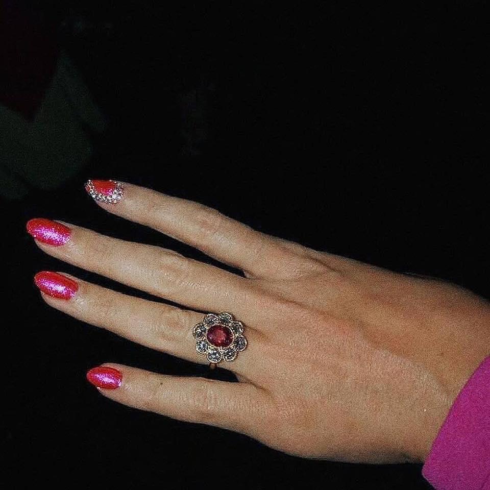 anillo Katy Perry