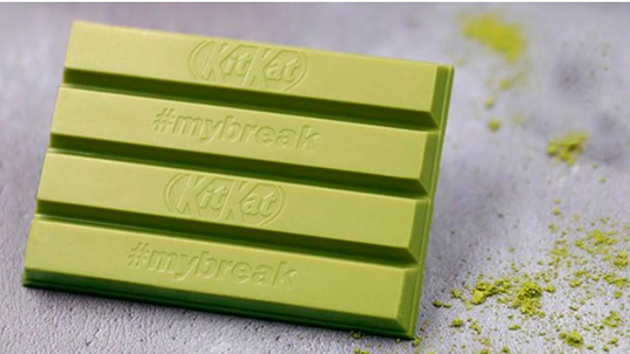 KitKat sabor té verde llegará a Europa a finales de febrero