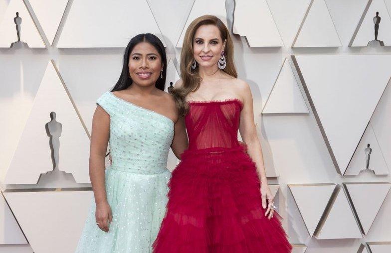 Marina de Tavira, ¿entre las mejor vestidas del Oscar?