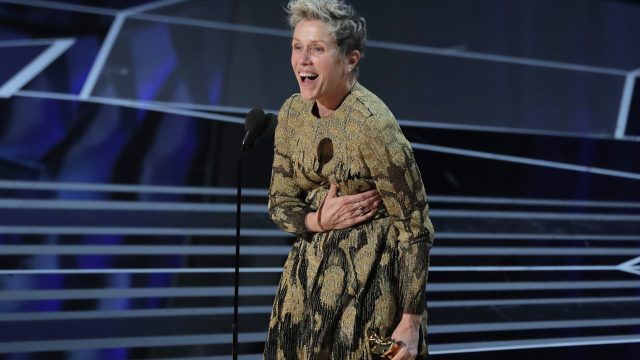Frances McDormand. Foto Reuters.