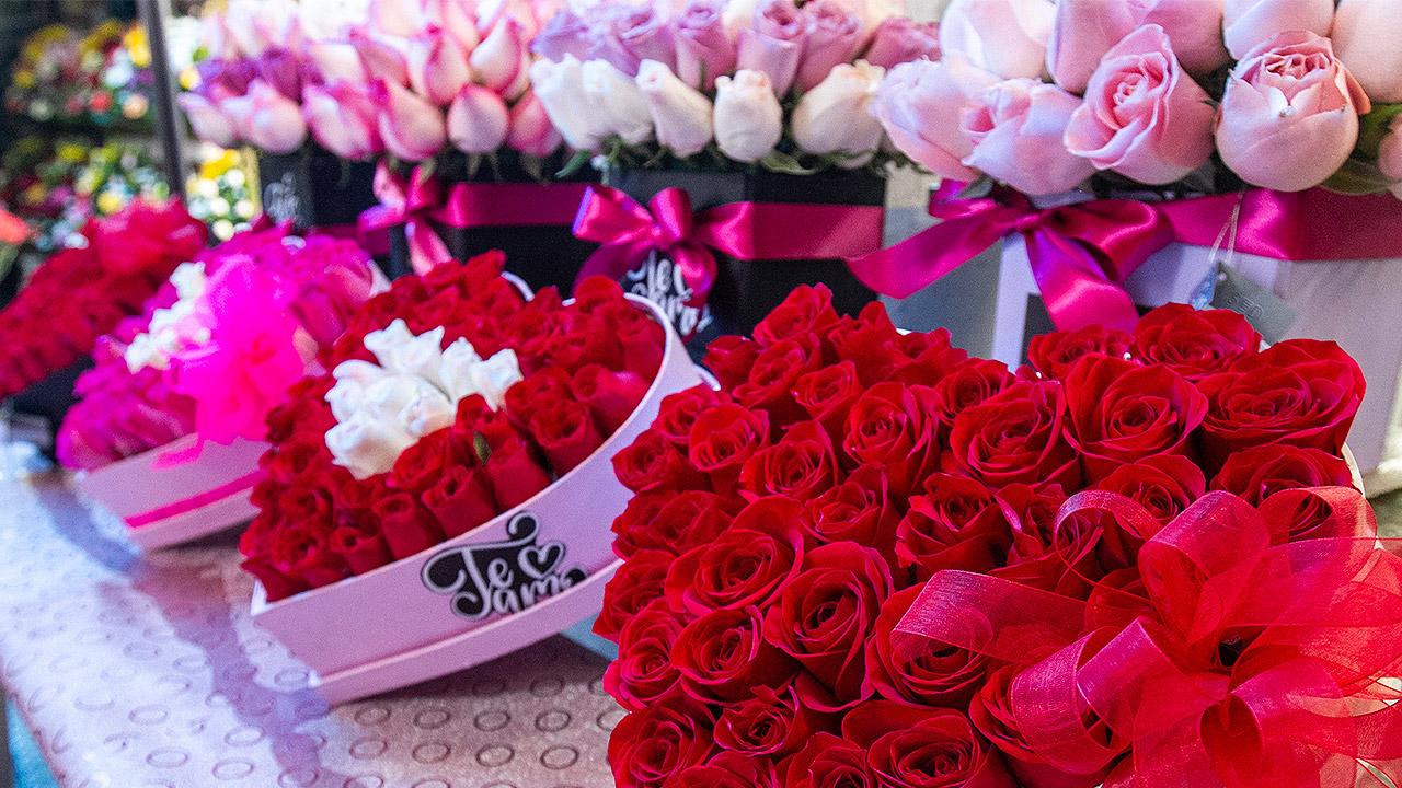 Ventas por celebración del Día de San Valentín caen casi 50%