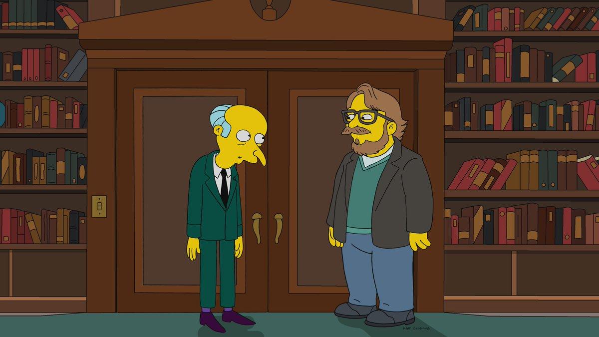 Guillermo Del Toro tendrá participación especial en Los Simpson