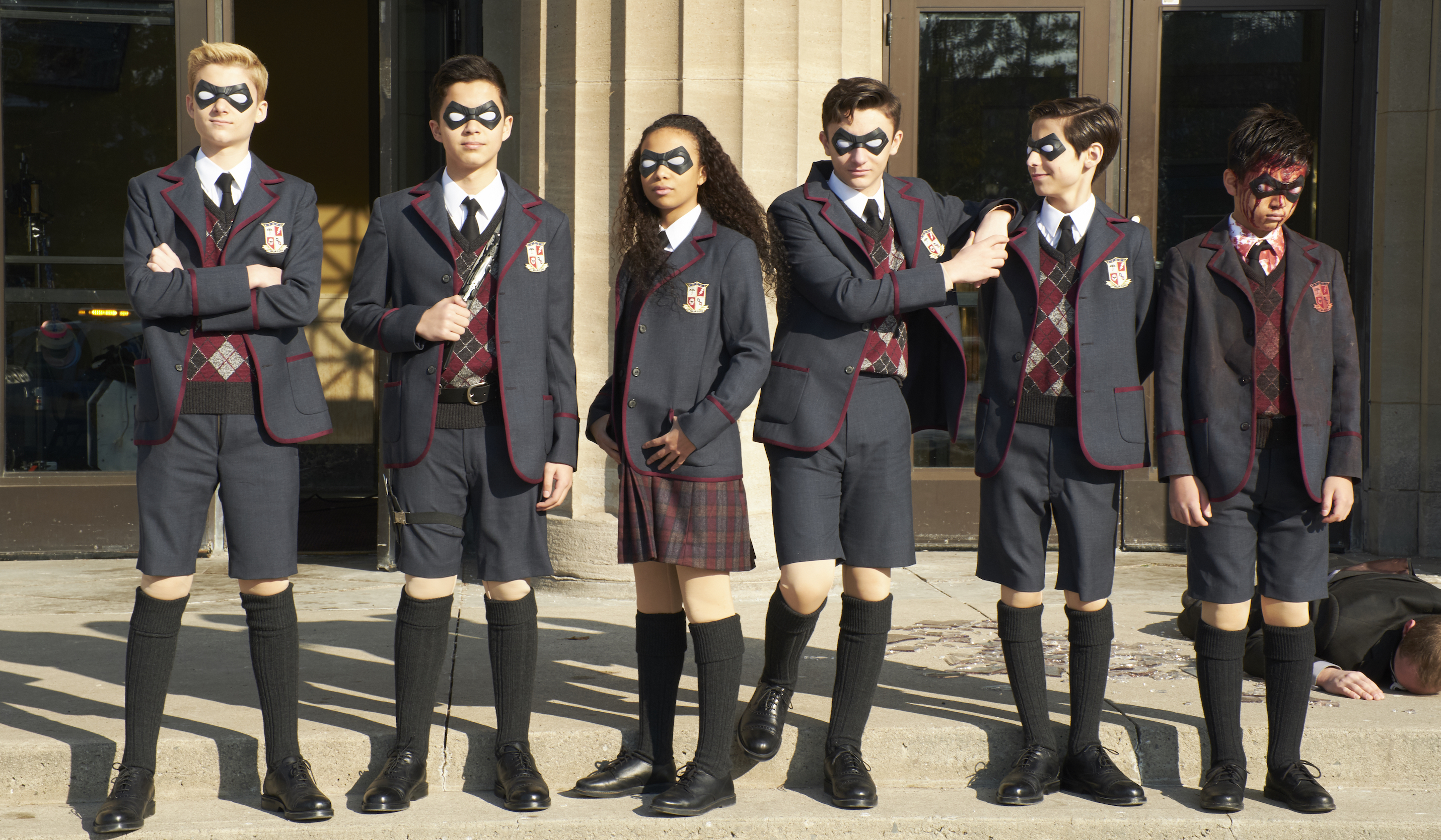 'The Umbrella Academy' será la nueva serie de superhéroes de Netflix