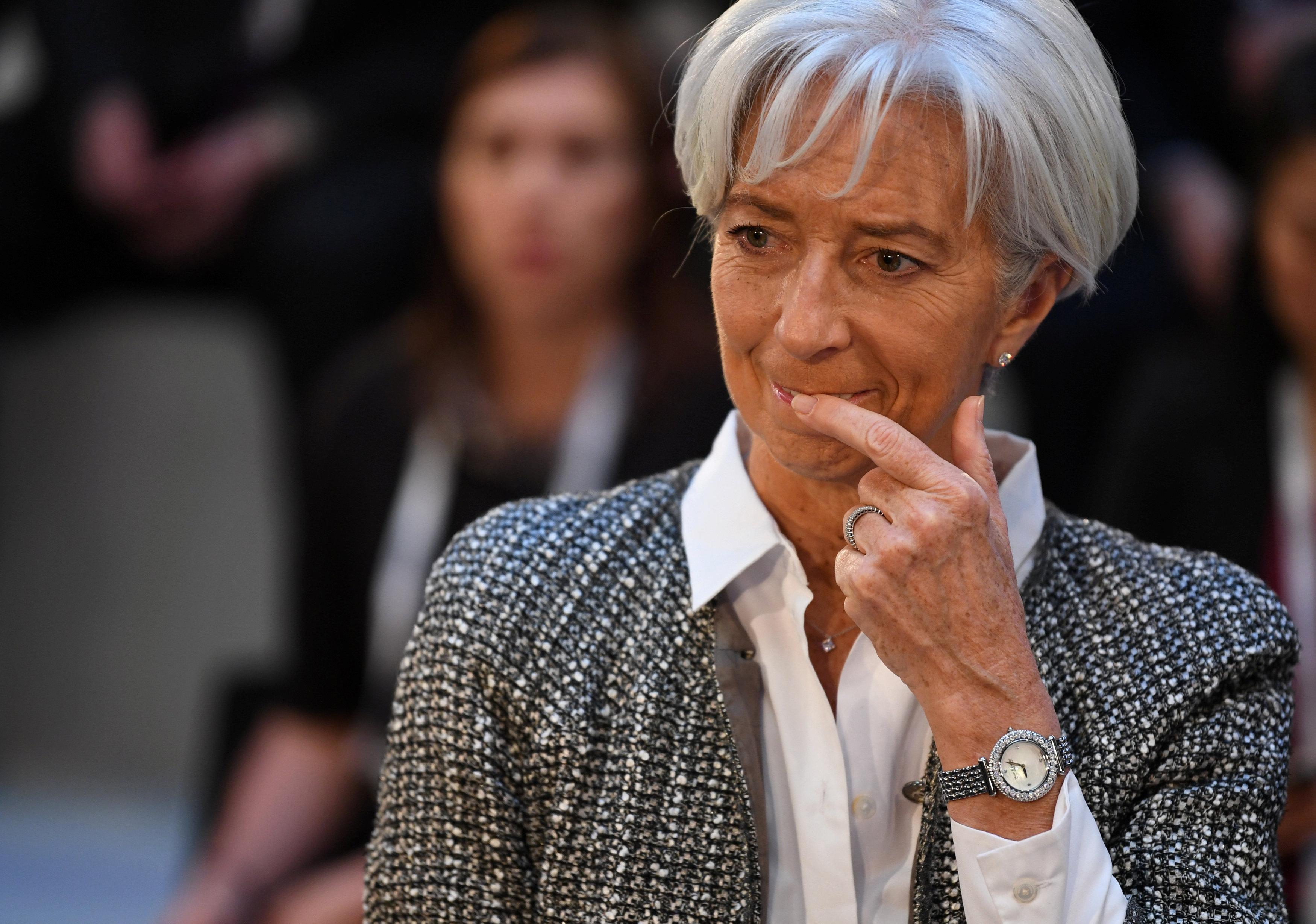"""Lagarde: el FMI tendrá un """"trabajo monumental"""" con Venezuela"""
