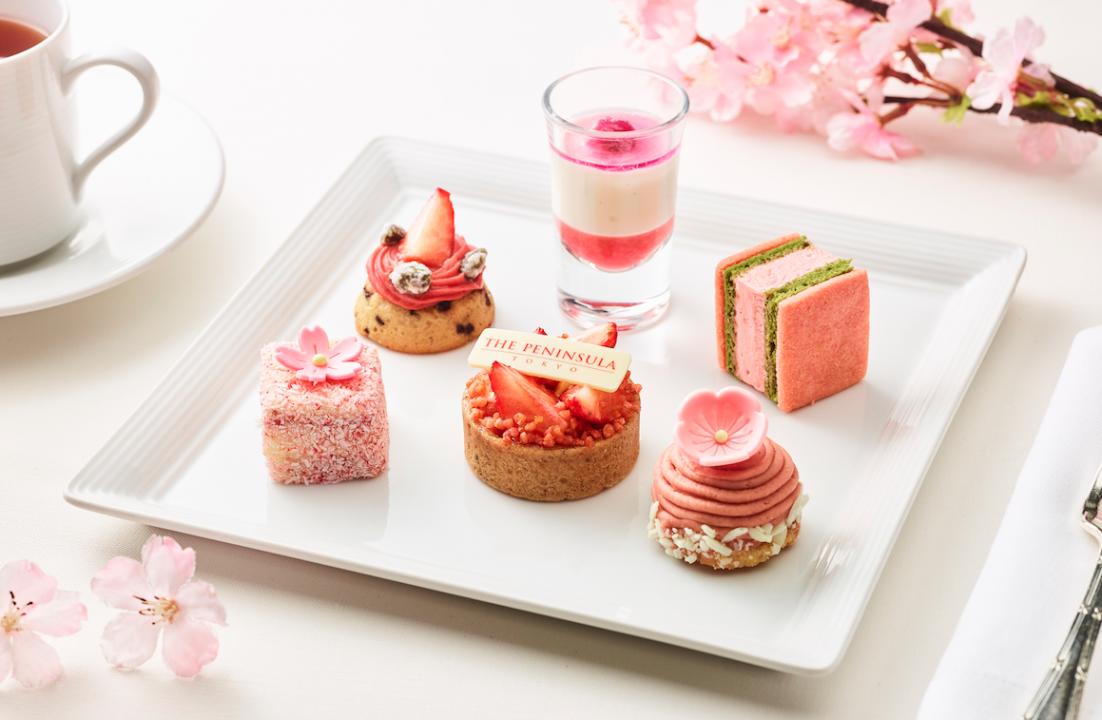 El florecimiento de cerezos en Japón inspira creaciones gourmet
