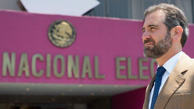 Lorenzo Córdova Vianello, consejero presidente del INE