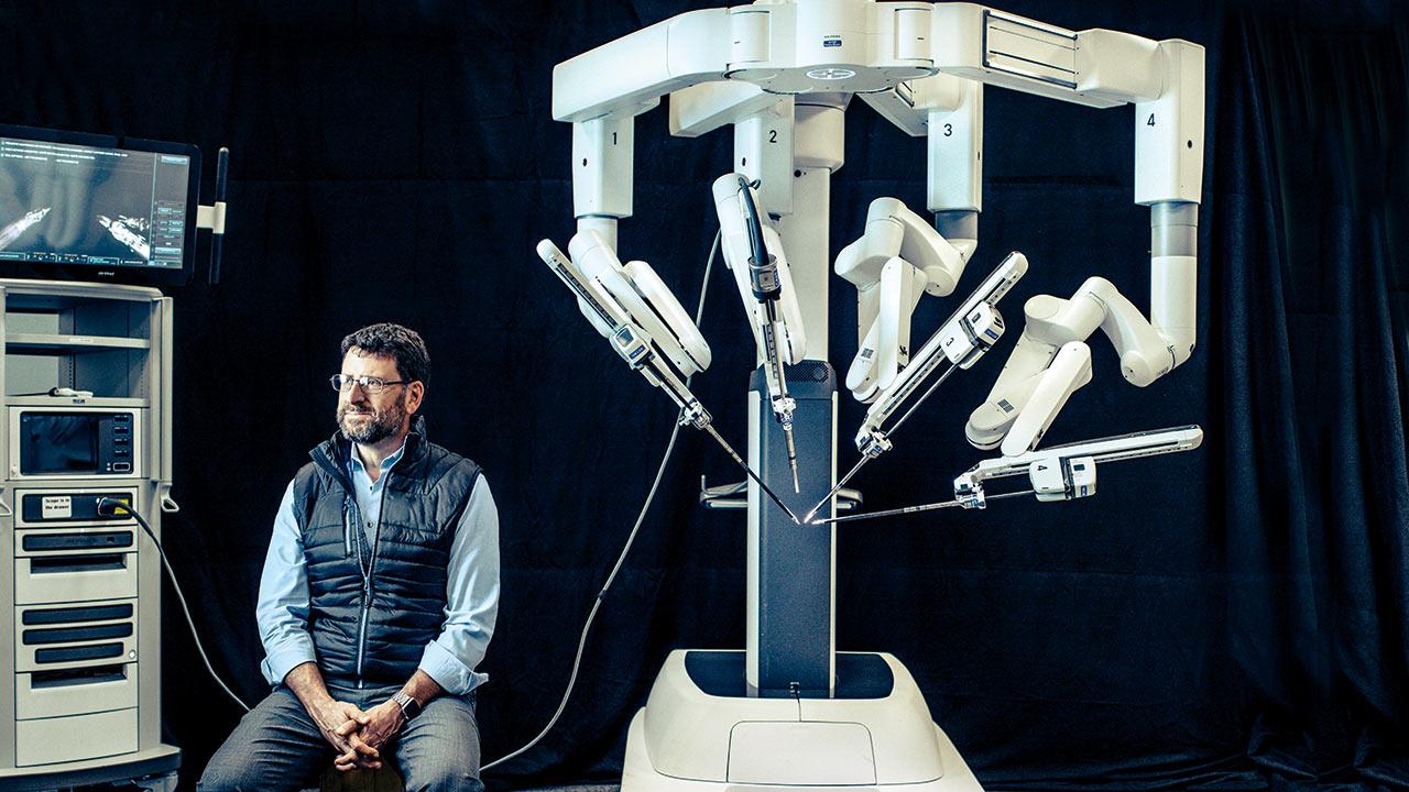 Los toques digitales del nuevo Da Vinci cirujano