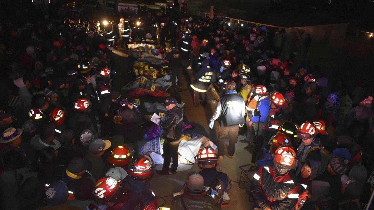 Aumenta cifra de fallecidos por accidente en Guatemala