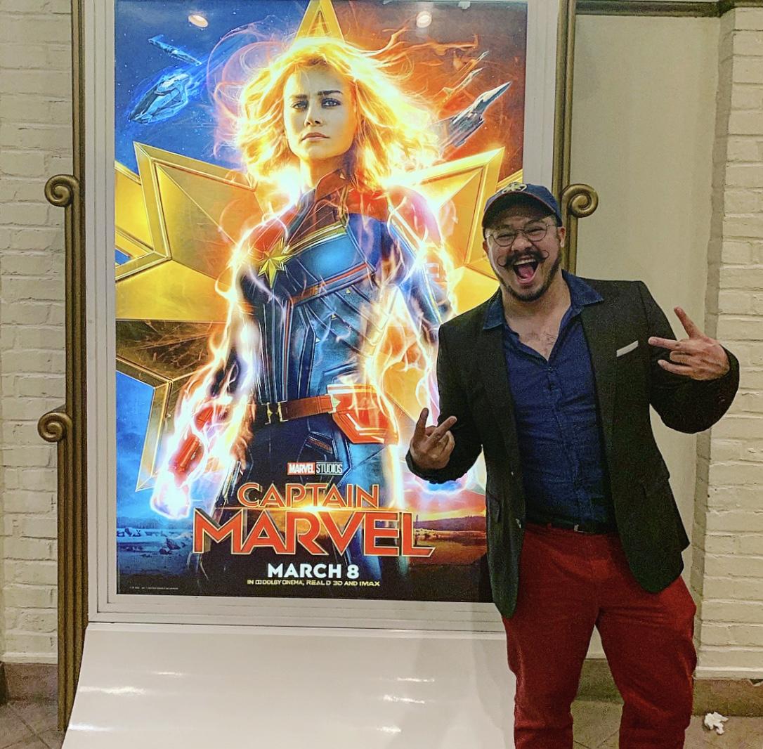 El salvadoreño que forma parte del universo Marvel