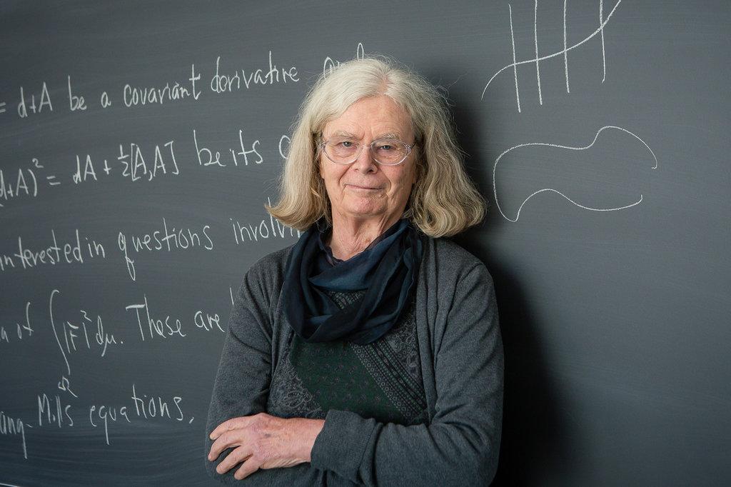 Ella es la primera mujer en ganar el 'Nobel' de Matemáticas