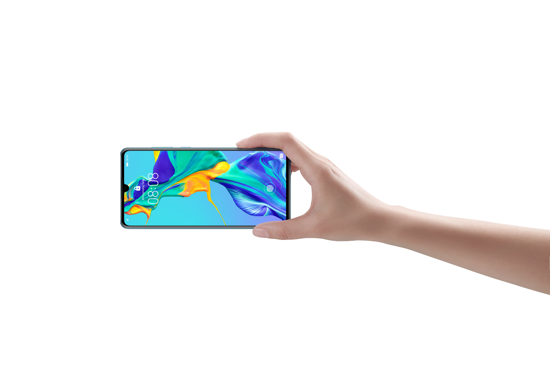 Huawei presenta en París su nueva familia de smartphones P30
