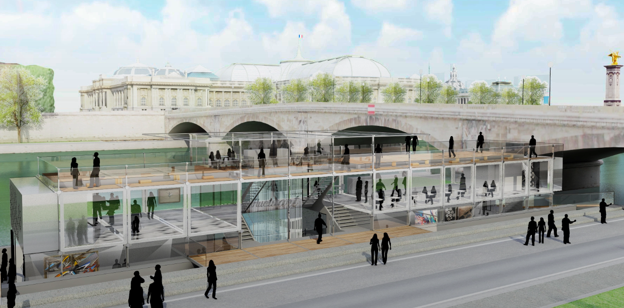 París abrirá el primer museo flotante del mundo dedicado al grafiti