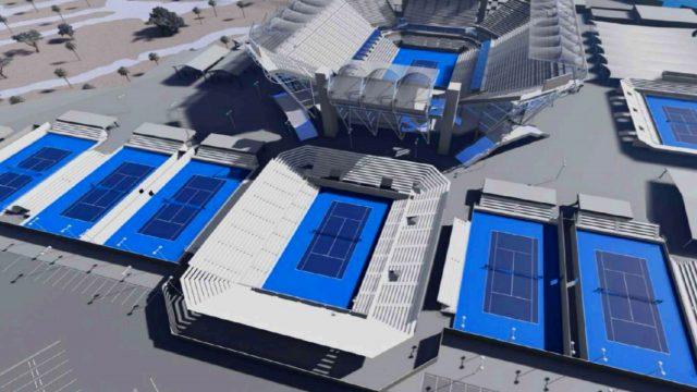 Acapulco tendrá un nuevo estadio para el Abierto Mexicano de Tenis