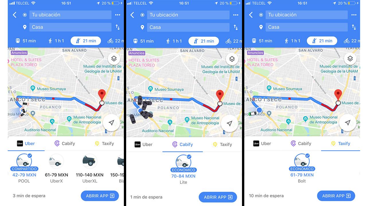 El truco de Google para que ahorres en las apps de taxis
