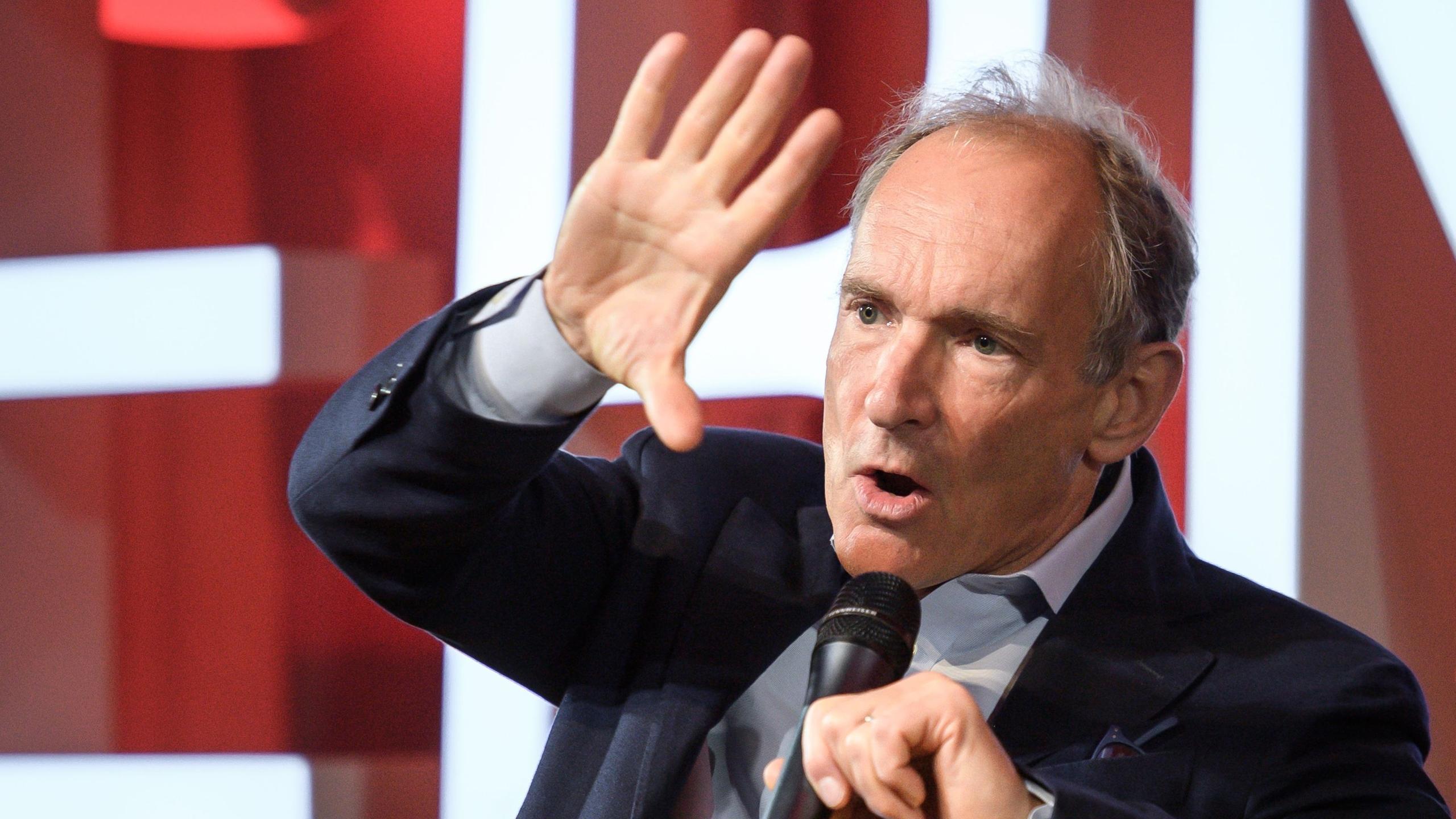 El padre de la web, Tim Berners-Lee, prepara para otro golpe maestro