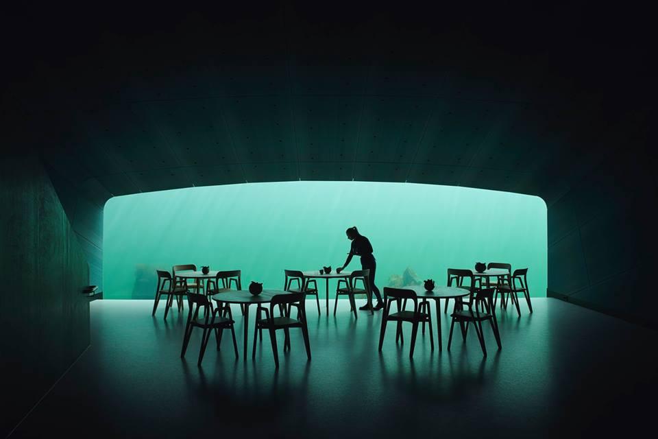 ¿Te atreverías a cenar en el primer restaurante submarino de Europa?
