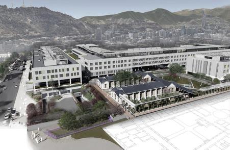 Con recursos por más de 400 mdd, GIA construye el hospital más grande de Chile