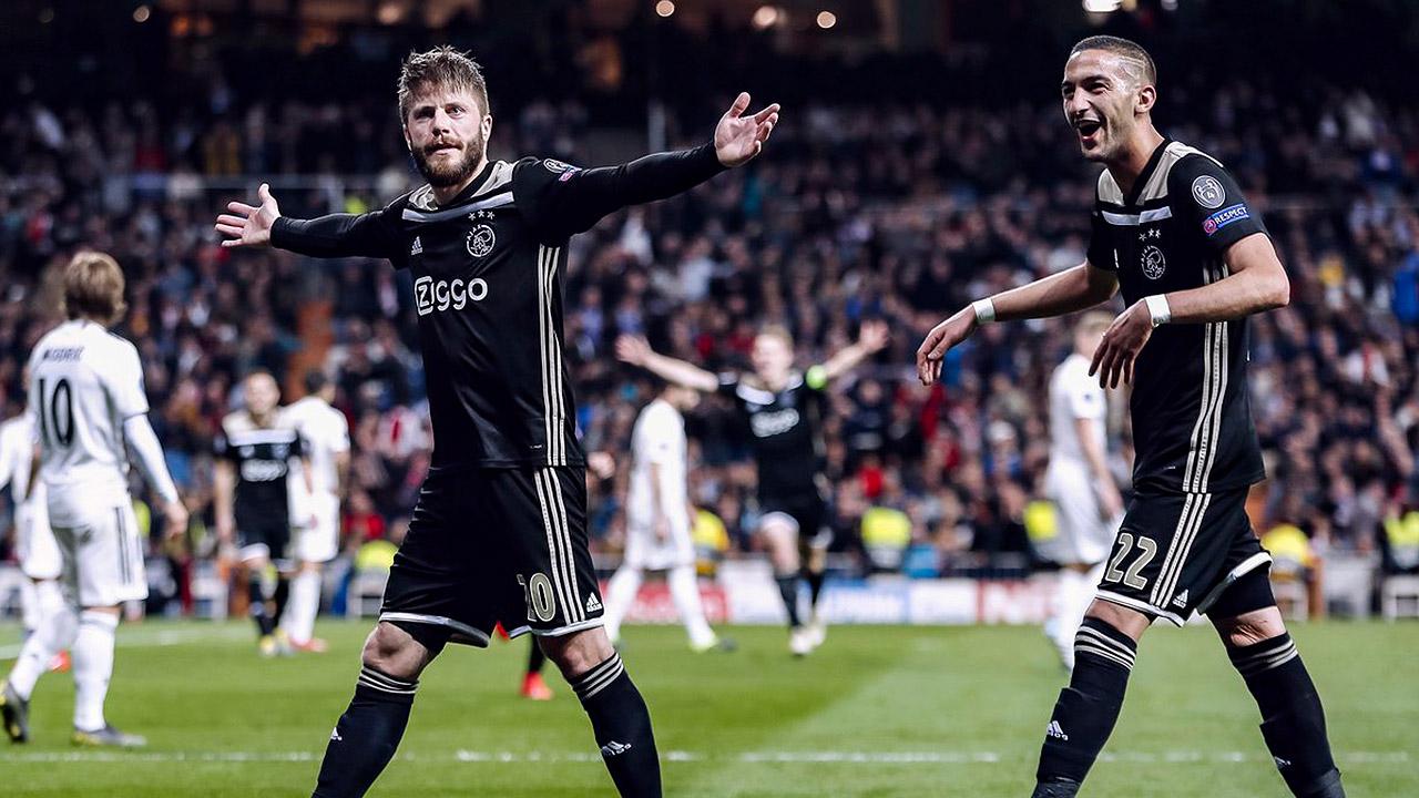 Ajax elimina con autoridad al Real Madrid de la Champions