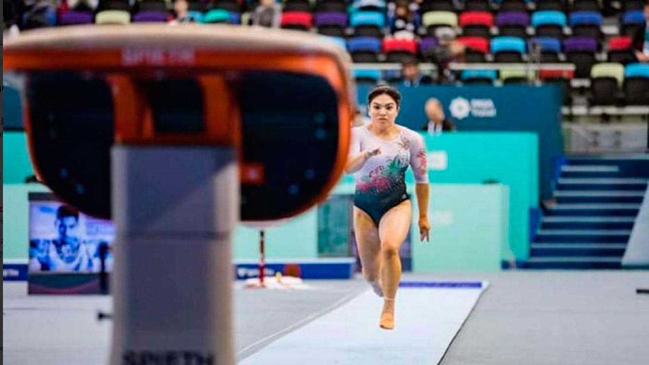 Alexa Moreno llega a la final de la Copa del Mundo de Gimnasia Artística
