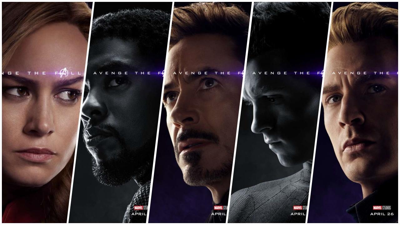 A un mes del estreno, Marvel revela nuevos pósters de 'Avengers: Endgame'