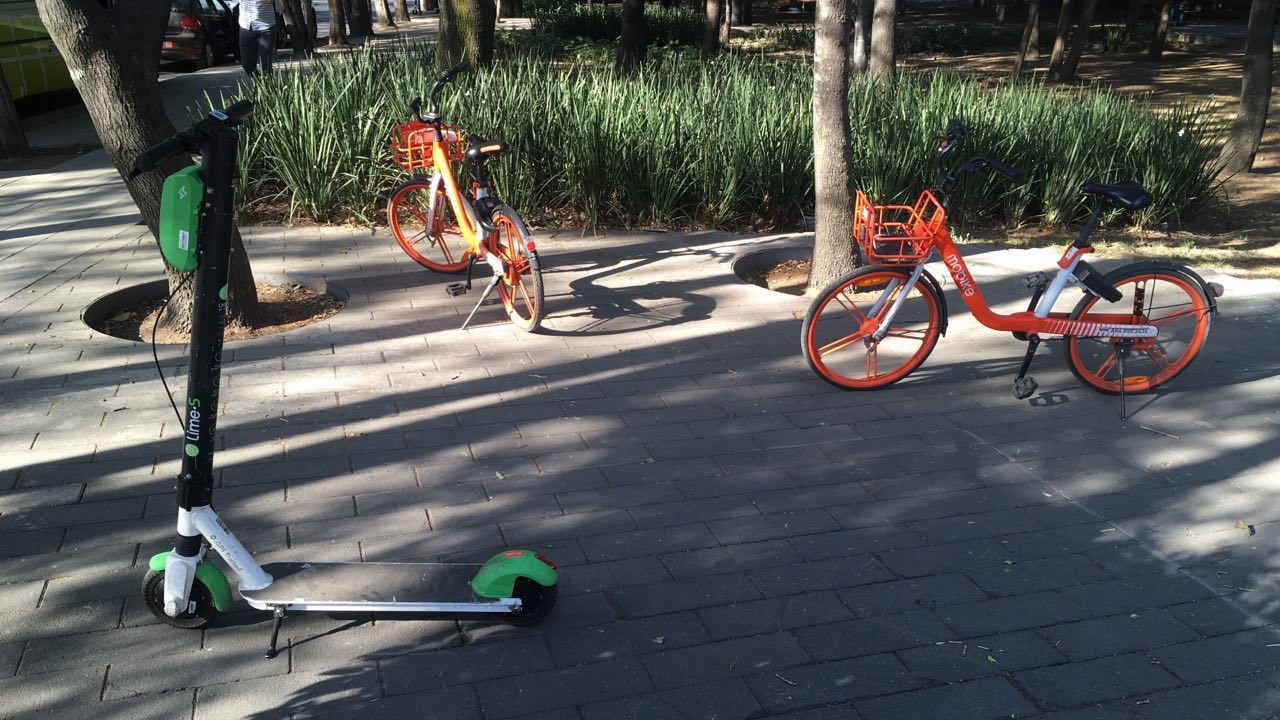 11 reglas que deben seguir las bicicletas y scooters de apps en CDMX